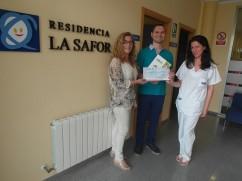 Donación Sindicato FSIE a Asmisaf